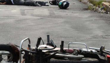 Mujer rusa sale caminando de accidente de moto a más de 100 km/h