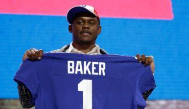 NFL: Deandre Baker es acusado de robo y él se entrega a la policía