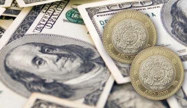 Precio del dólar este miércoles oscila los 24 pesos en bancos de México
