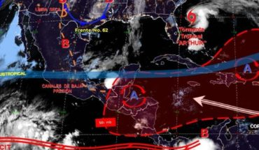 Pronóstico del clima de hoy: Hasta 40°C en 14 entidades de México