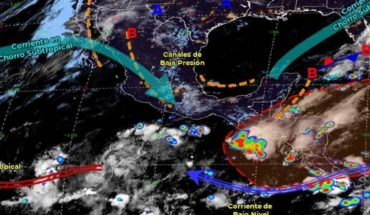 Pronóstico del clima de hoy: Prevén lluvias puntuales en México