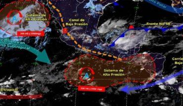 Pronóstico del clima de hoy: Se esperan lluvias en estos estados