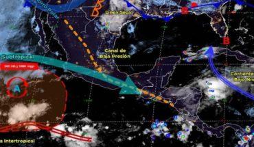 Pronóstico del clima de hoy: Prevén lluvias y tornados al norte del país