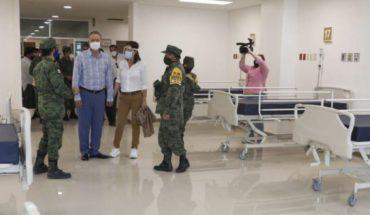 Quirino entrega al Ejército operación del Nuevo Hospital General de Culiacán como Covid