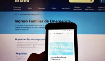 Ratificaron que seguirá el pago del Ingreso Familiar de Emergencia