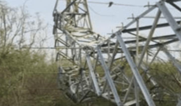 Restablece CFE el suministro de energía eléctrica a estados afectados por Frente Frío 63