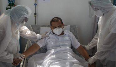Salud reporta 371 muertes COVID-19; hay ocupación del 40% de camas