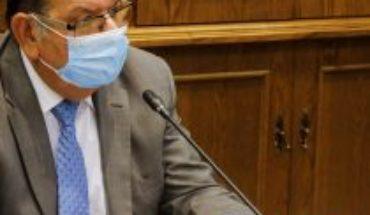 """Senador Quinteros está """"tranquilo"""" tras confirmar que era un """"falso positivo"""" pero hace mea culpa: """"Jamás debí tomar el avión"""""""
