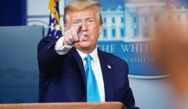 "Trump a una periodista de origen asiático: ""Hágale esa pregunta a China"""