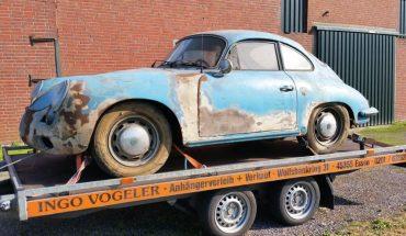Un Porsche pasó 40 años abandonado y volvió a la vida