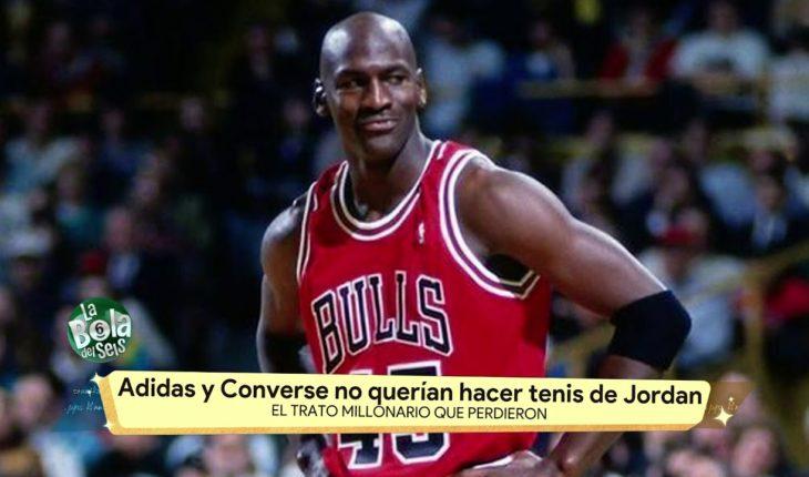 Adidas y Converse pierden millones por Jordan   La Bola del 6