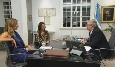 Alberto Fernández mano a mano en VERDAD CONSECUENCIA