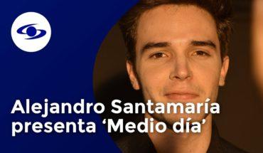 Alejandro Santamaría presenta 'Medio Día' su nuevo sencillo musical