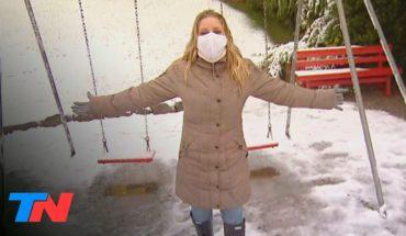 Coronavirus | La Argentina en cuarentena: TN en Bariloche durante la primera nevada del año