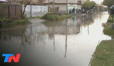 Moreno: cuadras inundadas y el riesgo del dengue