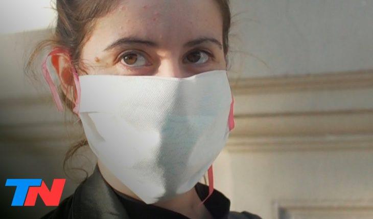 Tapaboca obligatorio en CABA: DÍA 1   Solo se puede salir con nariz, boca y mentón tapados