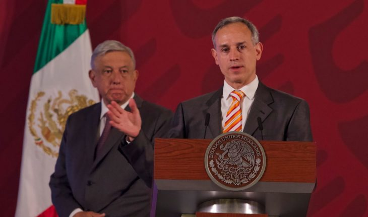 AMLO accuses campaign reform against Lopez-Gatell newspaper