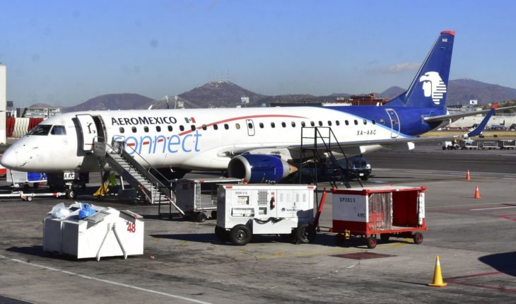 Aeromexico adjusts overseas schedules and cancels flights during May