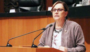 Apologises Senator of Morena for showing her naked torso