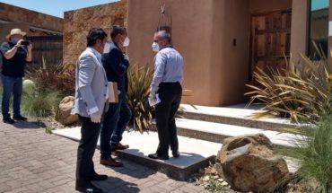 Baja California Prosecutor's Office catalyzes home of former governor Francisco Vega