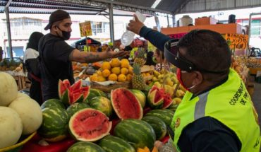 CDMX to award credits for 25 thousand pesos to tianguis sellers