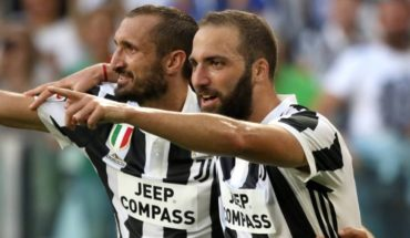 """Chiellini about Higuain: """"I hated it, but when I met him I was surprised"""""""
