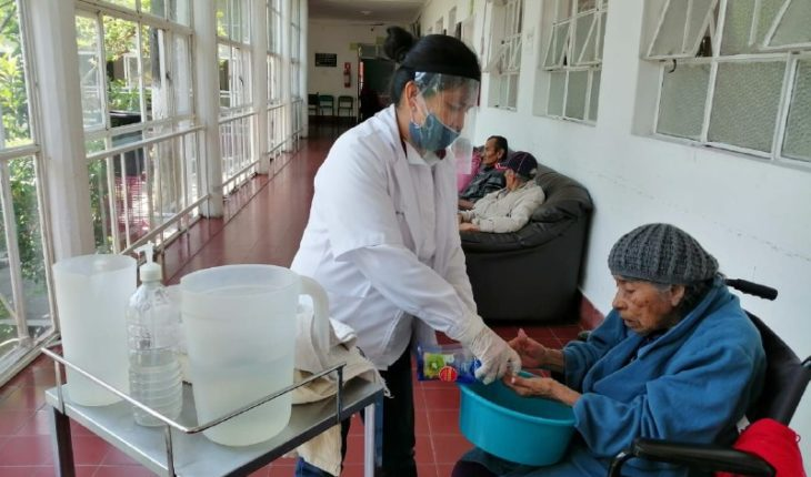 DIF Morelia strengthens health measures with asylum staff