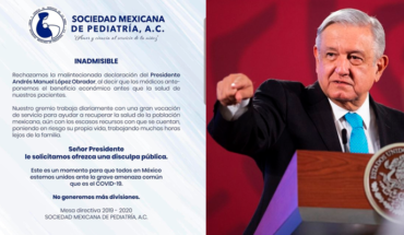 """Doctors demand AMLO apology """"before doctors were just looking to get rich"""""""
