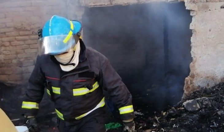Fire snatches a man's life in Zapopan, Jalisco
