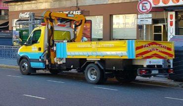 Have the gradual restoration of crane service