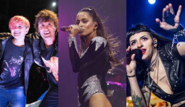 I revived shows by Tini, Cazzu, Ciro and Divided at Movistar Fri Music at Home