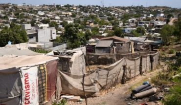 Illegally invade land in the colony Progreso, Culiacan