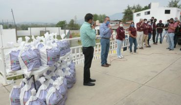 Morelia City Council Delivery 50 thousand pantries