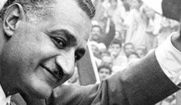Nasser visiting Sudan