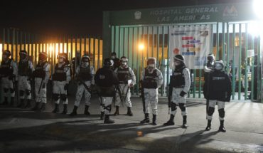 National Guard to monitor 41 Edomex COVID hospitals