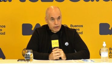 One by one, the new measures announced by Larreta for the City of Buenos Aires
