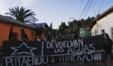 """Putaendo does not surrender against mining project: social manager accuses that """"we are besieged by carabinieri and military"""""""