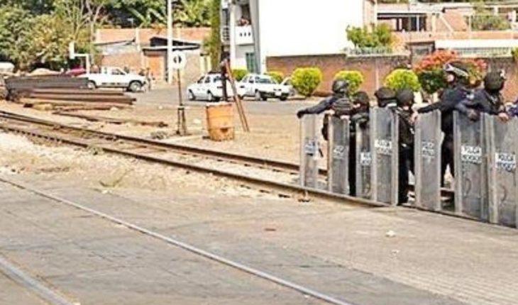 Release Police Roads in Michoacán