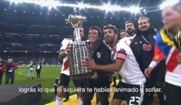 River turns 119 and celebrates it with a video voiced by Marcelo Gallardo