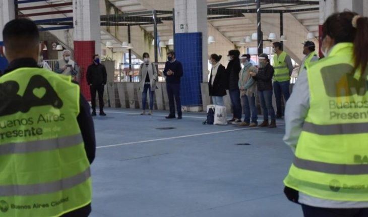San Lorenzo turned the New Gasometer into a COVID-19 testing center