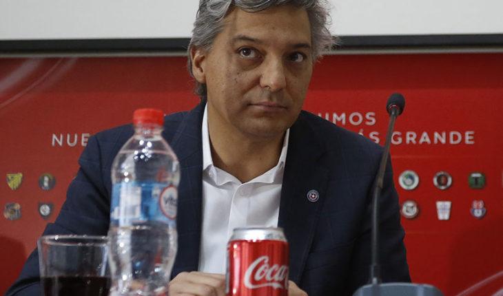 Sebastian Moreno's resignation to the ANFP materialized