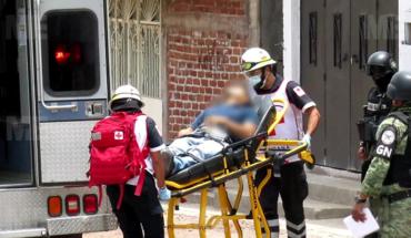 Subject survives a windowed shot attack from Lomas de San Pablo colony, Jacona