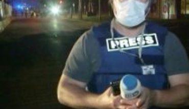 U.S. no press saved: policeman shot at DW TV crew in Minneapolis