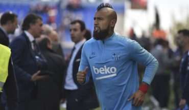 """Vidal and return to training: """"The least we can do is take care of ourselves and set an example"""""""