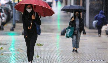 Alerta meteorológica por tormentas fuertes y ocasional caída de granizo