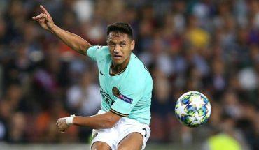 Alexis Sánchez será titular en el cruce entre el Inter y Sassuolo