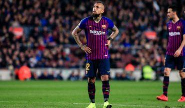 Arturo Vidal aparece entre los mejores suplentes de la liga española