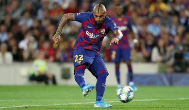 Arturo Vidal fue titular en ajustado triunfo del FC Barcelona sobre el Athletic