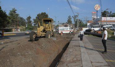 Ayuntamiento de Morelia cierra circulación del cruce Av. Madero por Obras