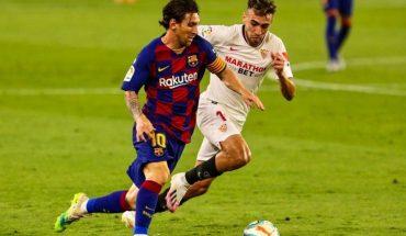 Barcelona empató con Sevilla y Real Madrid podrá alcanzarlo en la punta